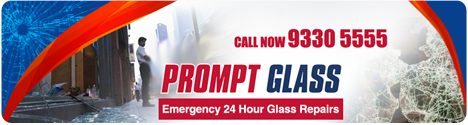 Promt Glass Header
